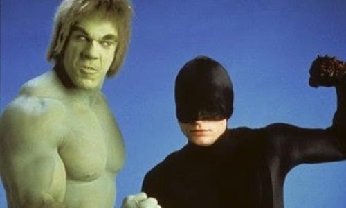Hulk e o Demolidor: juntos na TV.