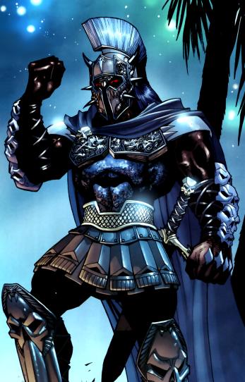 Ares, deus da guerra: candidato a vilão.