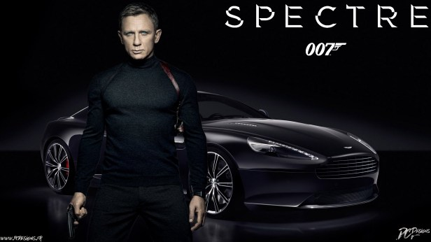 007 spectre poster banner