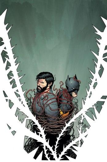 Detalhe da capa de Batman 46.