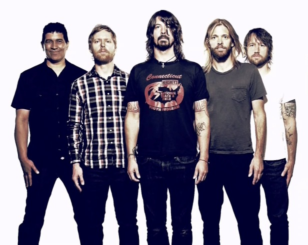 Foo Fighters quintet official image