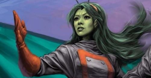 Mantis com visual mais contemporâneo e o uniforme dos Guardiões da Galáxia.