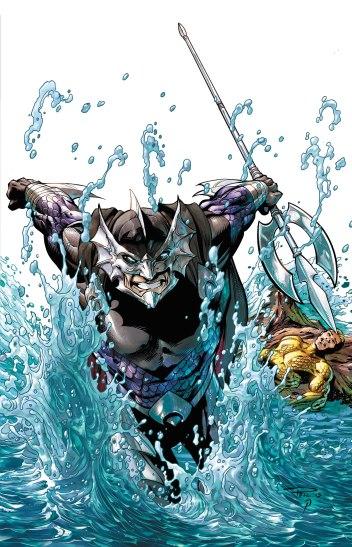 O Mestre dos Oceanos nos quadrinhos: trama familiar.