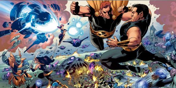 Hyperion versus Namor: o fim?