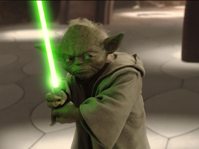 star wars attack of the clones Yoda