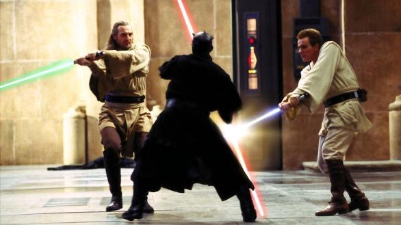 Os Jedi contra Darth Maul.