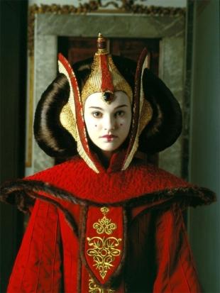 A rainha Amidala.