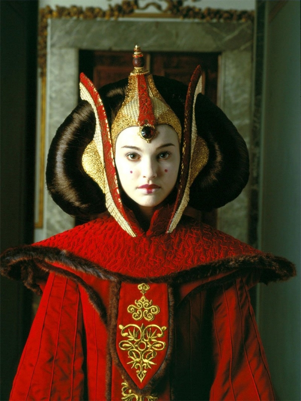star wars the phantom menace queen amidala