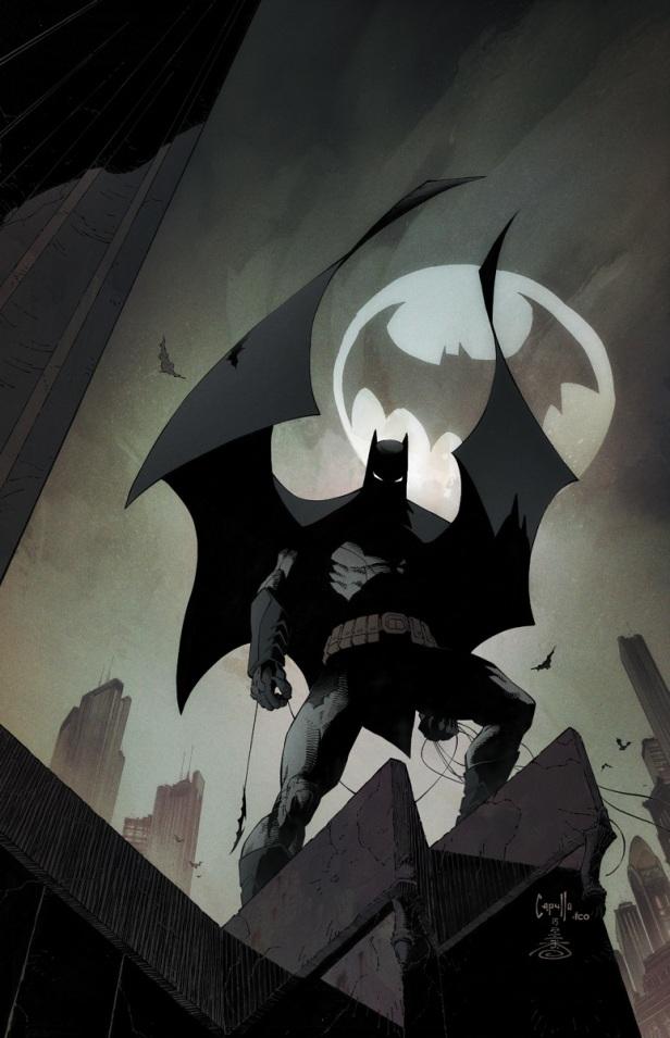 Capa de Batman 50, por Greg Capullo.