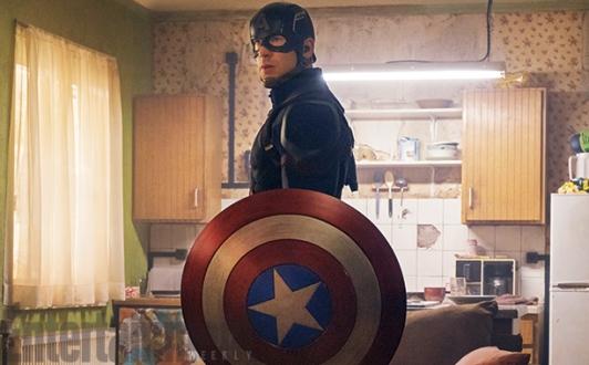 Capitão América: estátua comemorativa.
