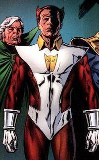 Mentor (esq.) e Eros: a família de Thanos.