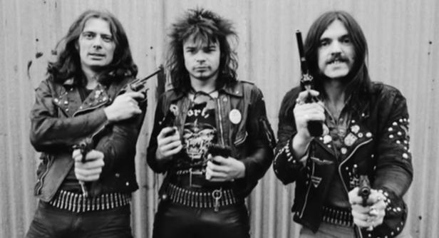 A formação clássica do Motorhead (1976-1982).