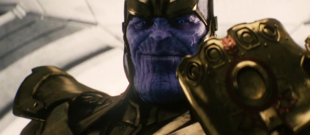 Thanos é o maior vilão da Marvel.