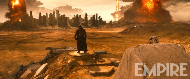 Batman e a marca de Darkseid.