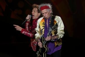 Jagger e Richards no Brasil em 2016.