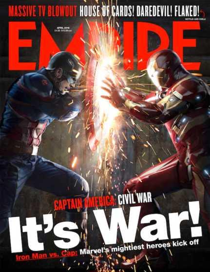 A nova capa da Empire,