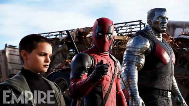 Deadpool: mais destaque.