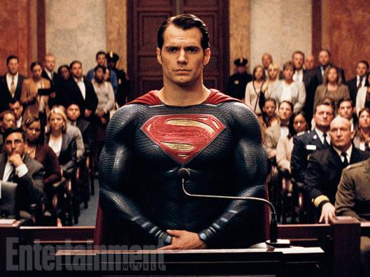 Superman se apresenta no Congresso: estopim.