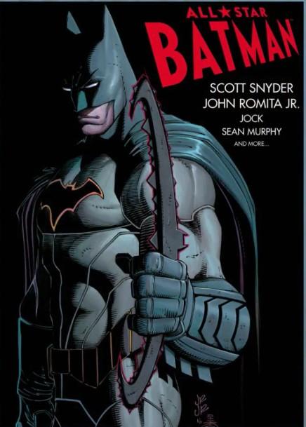 Capa oficial de All-Star Batman por John Romita Jr.
