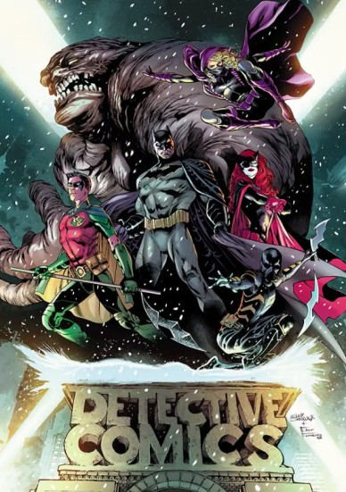CApa de Detective Comics por Eddy Barrows.
