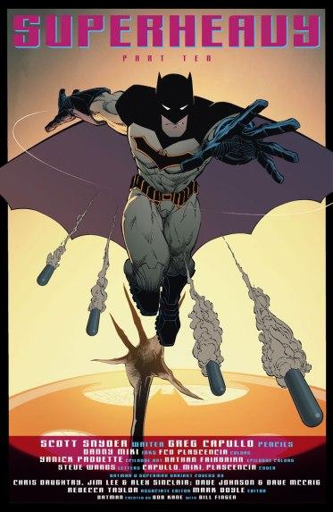 O novo uniforme do Batman.
