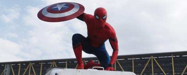 O Homem-Aranha no trailer de Guerra Civil.