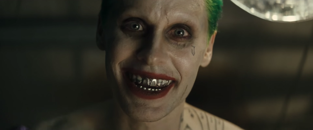 suicide-squad movie trailer 1 the joker smiling