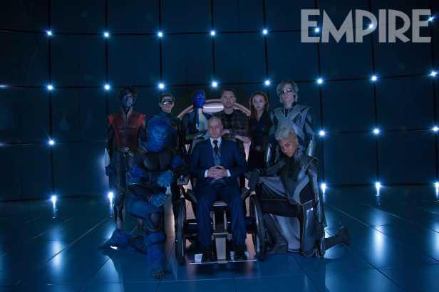 Apocalipse: fundação dos X-Men.