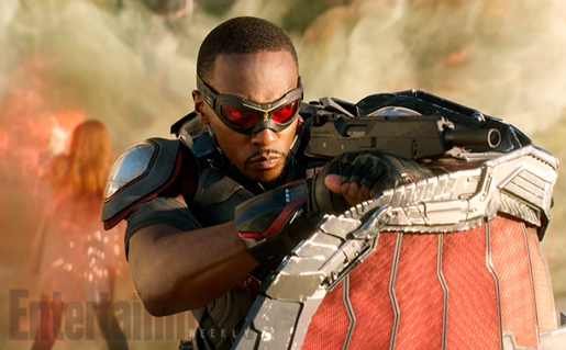 civilwar EW the falcon with gun