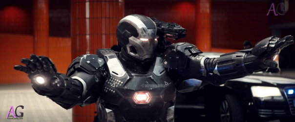 Marvel's Captain America: Civil War War Machine/James Rhodes (Don Cheadle) Photo Credit: Film Frame © Marvel 2016