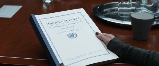O Tratado de Sokovia.