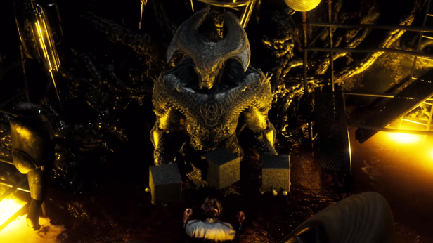 dawnofjustice deleted scene luthor and steppenwolf