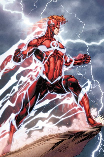 O novo Wally West.