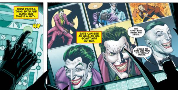 Batman e os três Coringas. Heim?