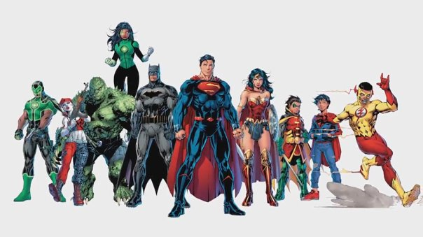Banner de Rebirth por Jim Lee.