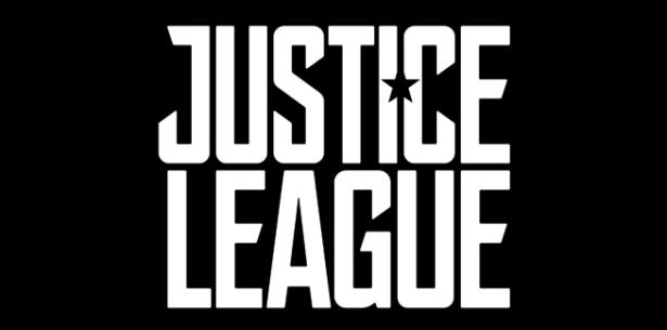 A logo de Liga da Justiça.