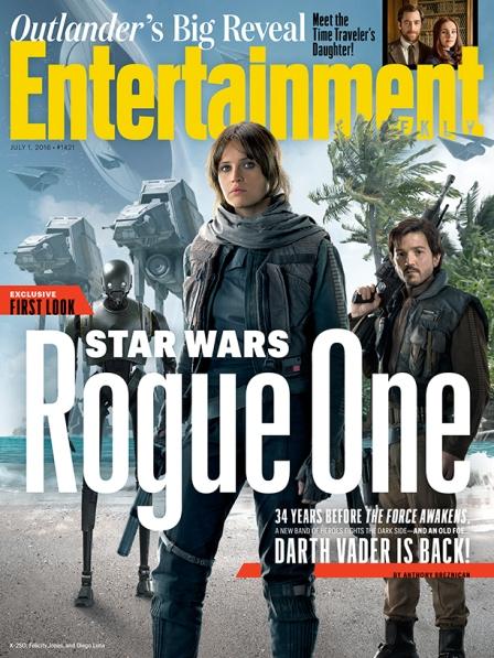 Capa da EW com Rogue One.
