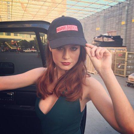 É oficial: Brie Larson é a Capitã Marvel.