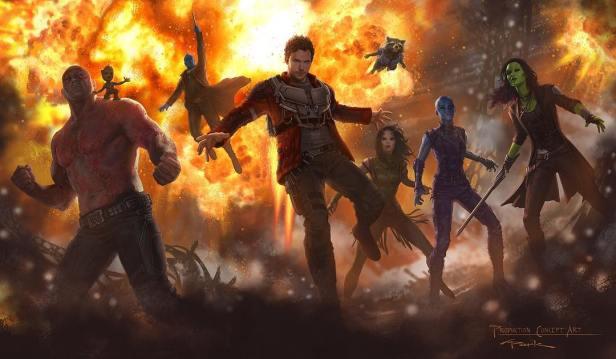 Os Guardiões da Galáxia devem aparecer em Guerra Infinita.