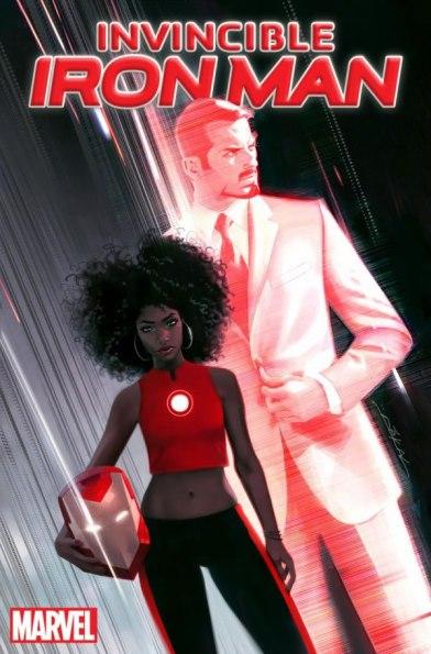 Riri Williams será a nova Homem de Ferro.