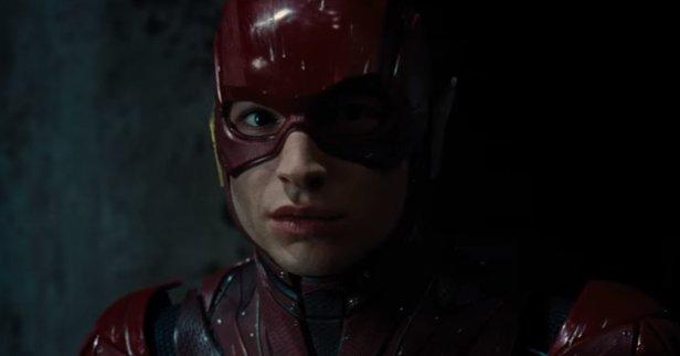 O Flash no trailer de Liga da Justiça: Sem diretor.