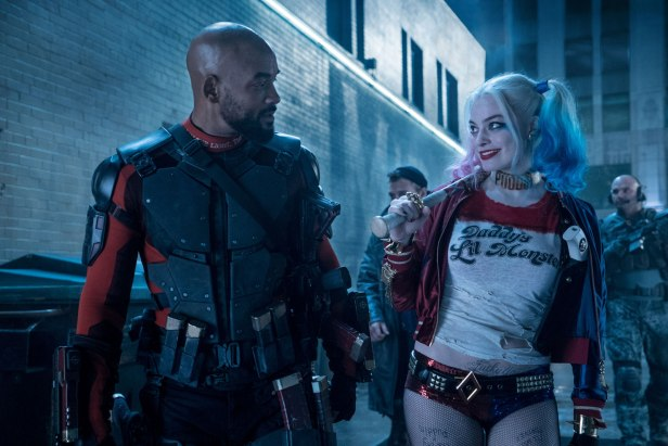 suicide-squad movie hi-res deadshot and harley quinn looking