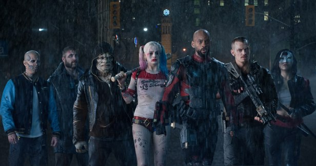 suicide-squad movie hi-res the team in the rain