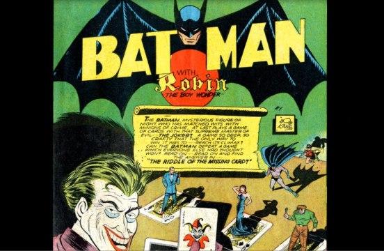 Página de abertura de Batman 05.