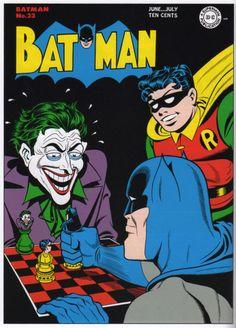 A arte de Dick Sprang para Batman 33.