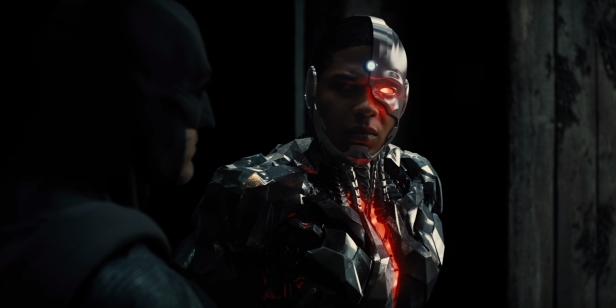 justice league movie batman and cyborg