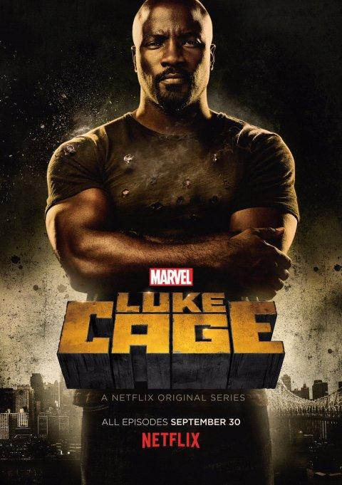 Poster oficial de Luke Cage.
