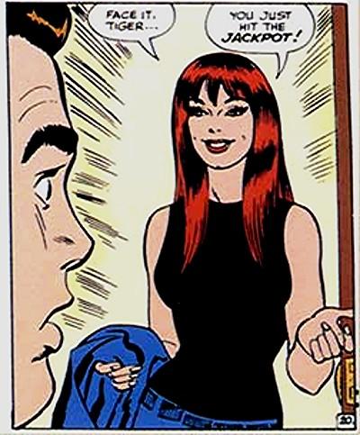 Mary Jane revelada por John Romita.