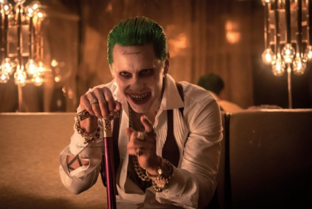 suicide squad movie joker with cane