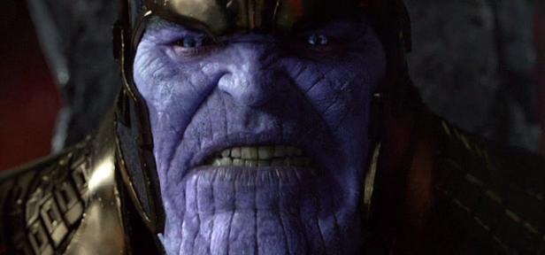 Thanos em Guardiões da Galáxia.